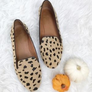 Madewell • Teddy Loafer Lepard Flat size 7
